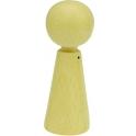 Houten popje 6,5cm hoog, 1 stuks