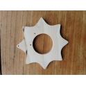 Speelbelovend houten ster 35mm