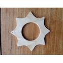 Speelbelovend houten ster 45 mm