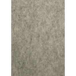 Gemêleerd wolvilt grijs (20 x 30 cm)