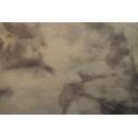 Sprookjesvilt 180x20 cm grijs