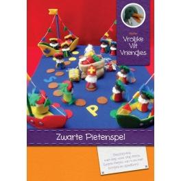 Patronenboekje 'Zwarte Pieten spel'