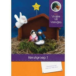 Patronenboekje kerstgroep 1