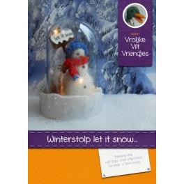 Pakket Winterstolp 'Let it snow'