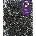 Zwarte kralen 4 mm