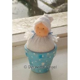 Pottepopje sneeuwbalmeisje